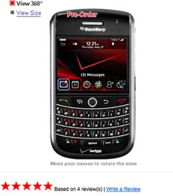 preordertour BlackBerry Tour Pre-Order Info for Verizon and Sprint