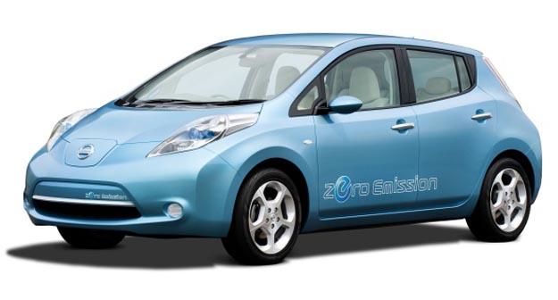 nissan Nissan Leaf EV Hits Retail Channels in 2010