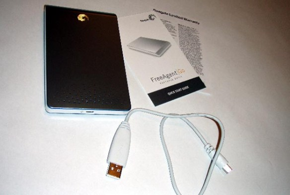 seagate-1 REVIEW: Seagate FreeAgent Go Portable Hard Drive