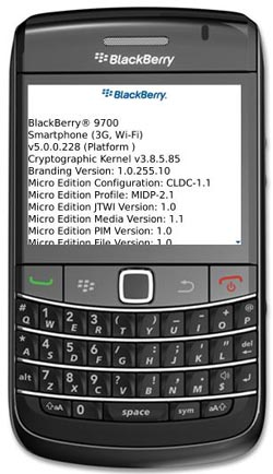 boldsim  Go Hands-On with BlackBerry Bold 9700 Today (Sorta)