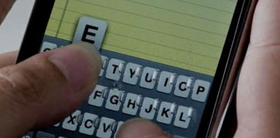 iphonethumb  Video: Another Tactile Keyboard Idea for the iPhone