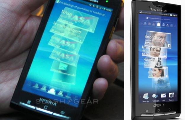 xperia Sony Ericsson Rachael Officially Unveiled as XPERIA X10