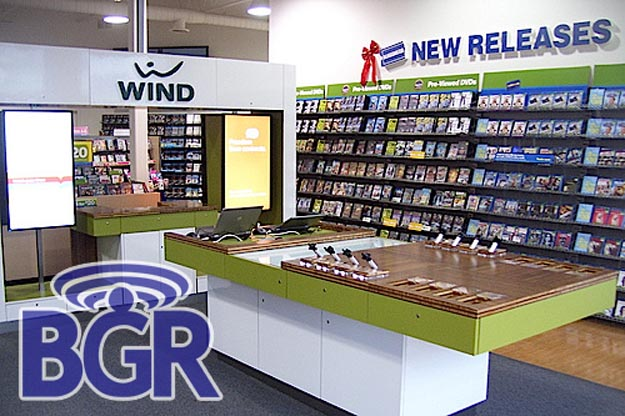 windblockbuster   First Look: Wind Mobile Kiosk Inside Blockbuster Store