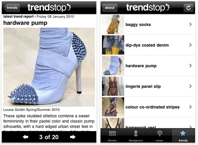 fashion-app-screenshot1 iPhone turned fashion assistant, great apps for every style