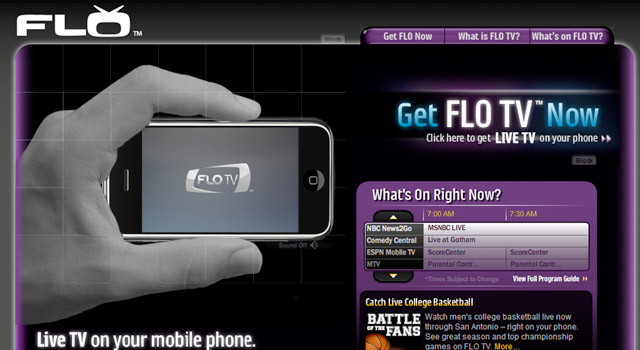 flo-tv-iphone iPhone to go with the FLO.. TV