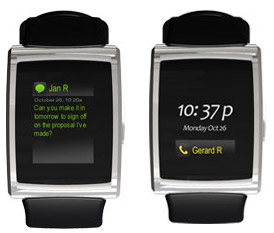 inpulse-watch-blackberry inPulse smartwatch for Blackberry gets you updates on your wrist