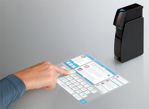lightblue-lighttouch Light Blue Optics' Light Touch turns any surface into a touchscreen display