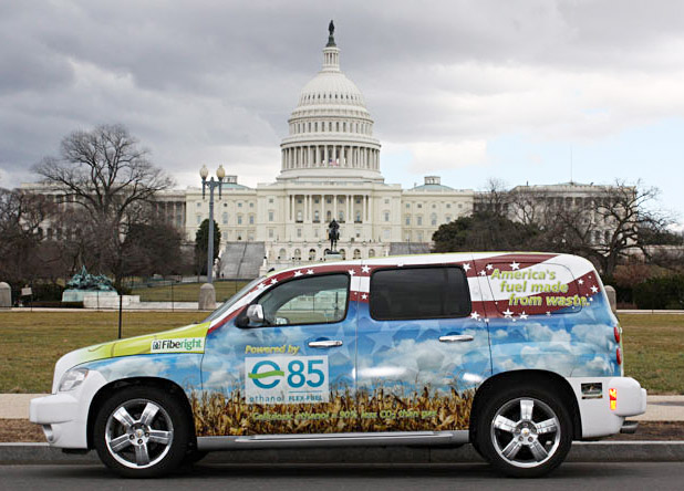 novozyme1 Paper waste powered car roams Washington