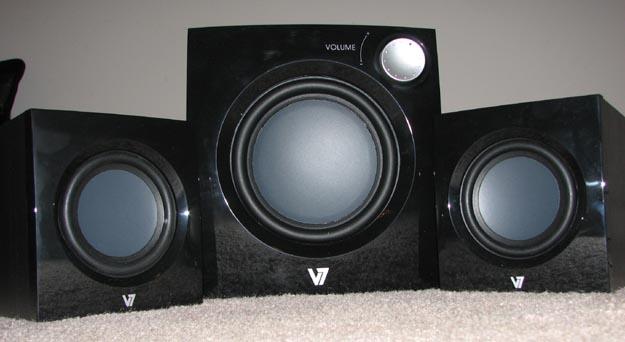 v7speakers-1 REVIEW - V7 A321P 2.1 Multimedia Speaker System