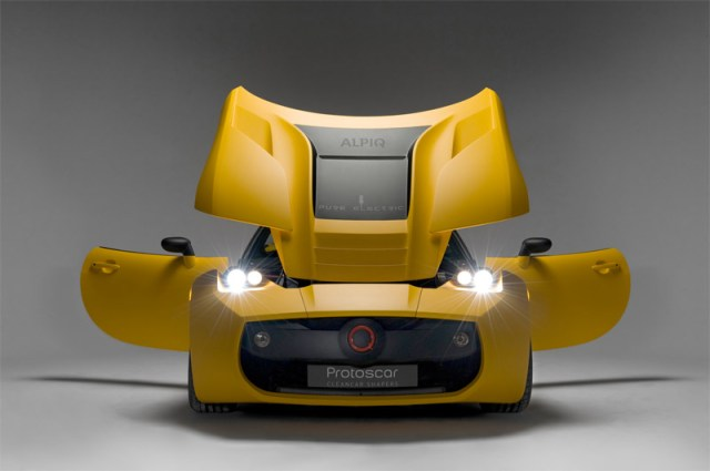 Protoscar-LAMPO2-12 Protoscar LAMPO2 Electric Sports car to be shown in Geneva next month