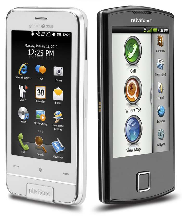 garmin-asus-nuvifone Garmin-Asus reveals two handsets: nuvifone Android A50 and WinMo Nuvifone M10