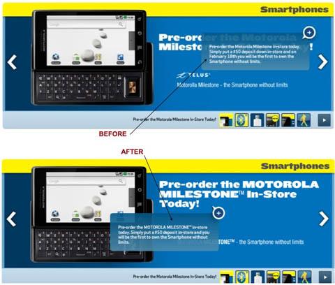 moto-milestone-TELUS Motorola Milestone not coming to Telus on February 18th after all?