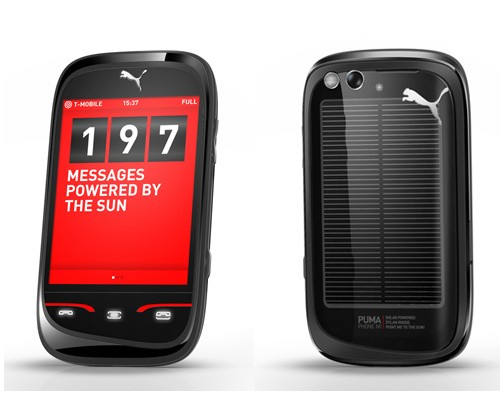 pumaphonemwc2010feb Puma Phone is solar powered with pedometer, GPS tracker and stopwatch