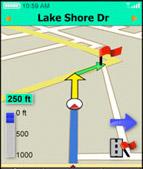 vzn GPS location sharing to Facebook now on Verizon Wireless VZ Navigator 5.0