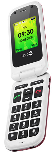 doro-phoneeasy410  Swedish Doro phone designed with seniors in mind