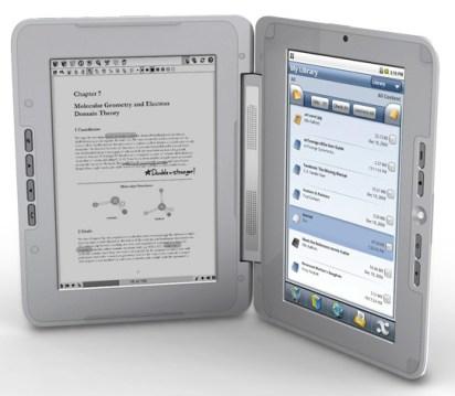 entourage-edge-01 enTourage eDGe dual screen tablet reads Android style