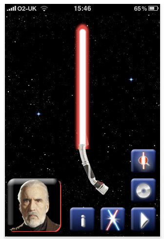 lightsaber Review: Star Wars Lightsaber Duels for iPhone