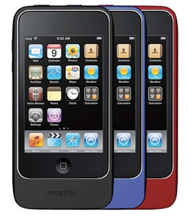 mophie-touch2 Mophie extends Juice Pack Air line to include iPod touch