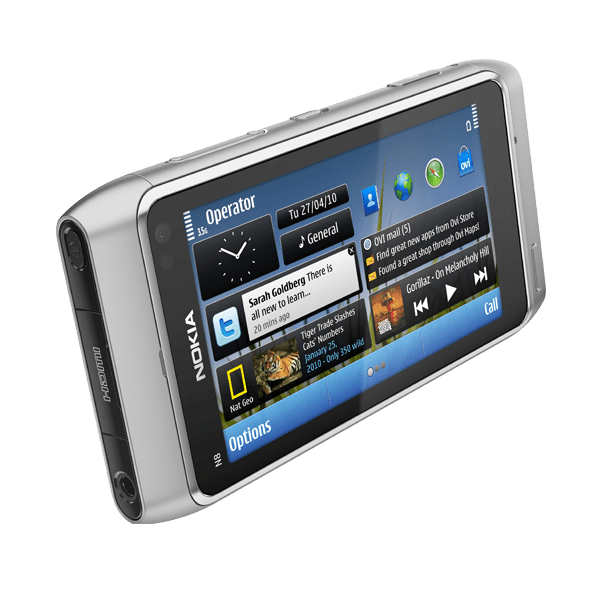 nokia_n8_shot_E_silver_604x604 Nokia N8 smartphone boasts 12MP camera, HD video