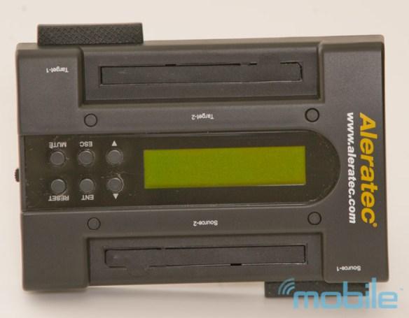 aleratec-alone Review: Aleratec 1:1 HDD PortaCruiser hard disk drive duplicator