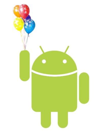 android.balloons Android ousts iPhone in US Q1 sales