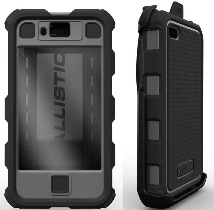 ballistic Ballistic nerfs your iPhone 4 with protective case shell