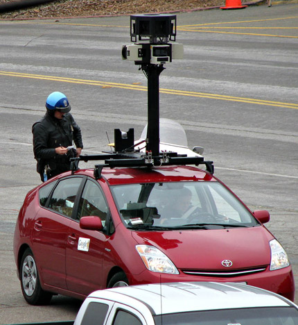 google-street-view Google's Small Problem
