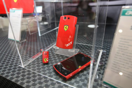 liquid-e-02 Acer, Ferrari unveil Liquid E Android smartphone, 64-bit Ferrari One netbook