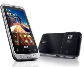 acer-stream-android-back  Expansys gets exclusive on Acer Stream Android phone