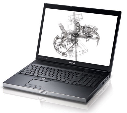 dell-m6500 Dell Precision M6500 notebook gets a beastly 32GB of RAM