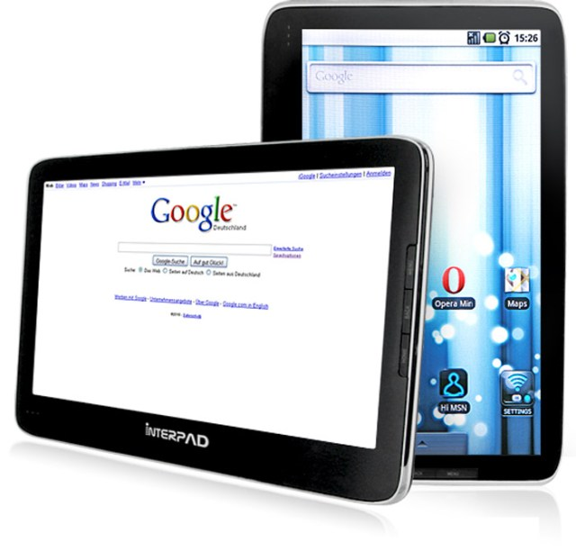 interpad-large German E-Noa Interpad Android tablet rocks Tegra 2 chip, slated for December release