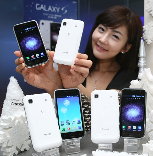 galaxy-s-snow-white  South Korea sees Snow White Samsung Galaxy S smartphone
