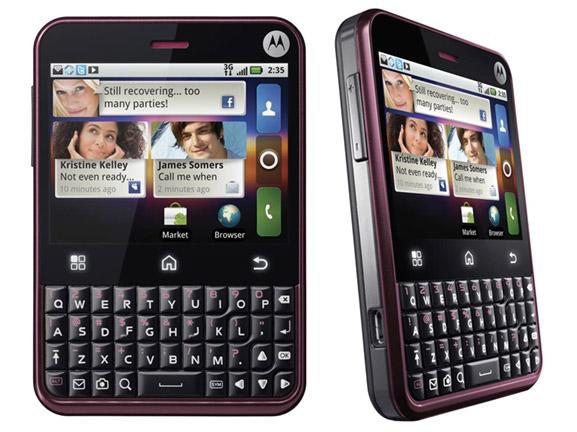 motorola-CHARM Telus Mobility nabs Motorola CHARM Android smartphone