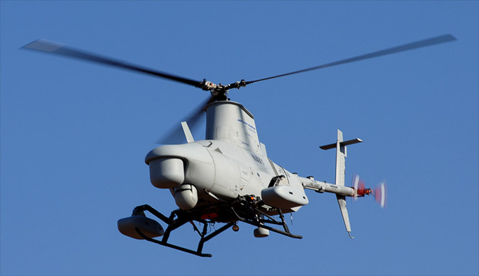 mq-88-firescout Navy Drone goes M.I.A. for 23 miles, 30 minutes: Skynet?
