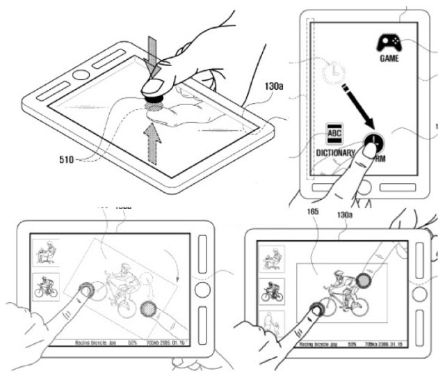 samsung-dual-screen-touch Samsung's dual touchscreen patent could change tablets, again