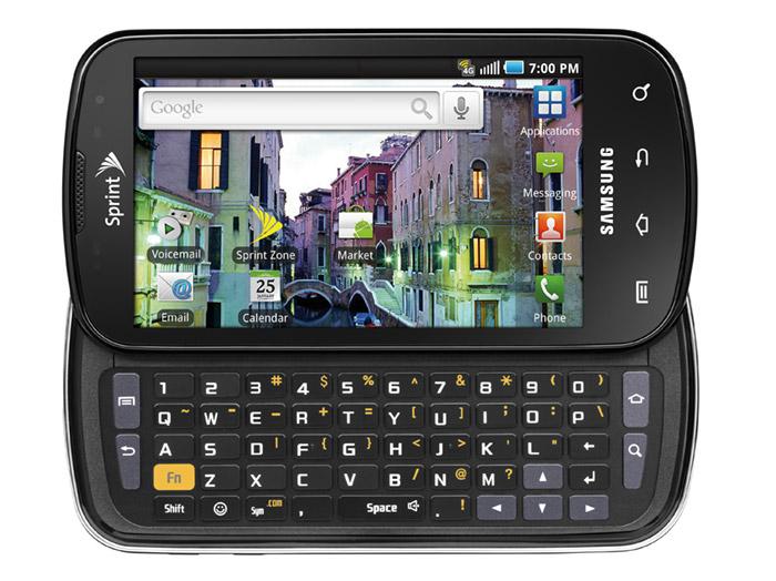 sprint-epic-4g Sprint goes ablazing with Samsung Epic 4G (Galaxy S)