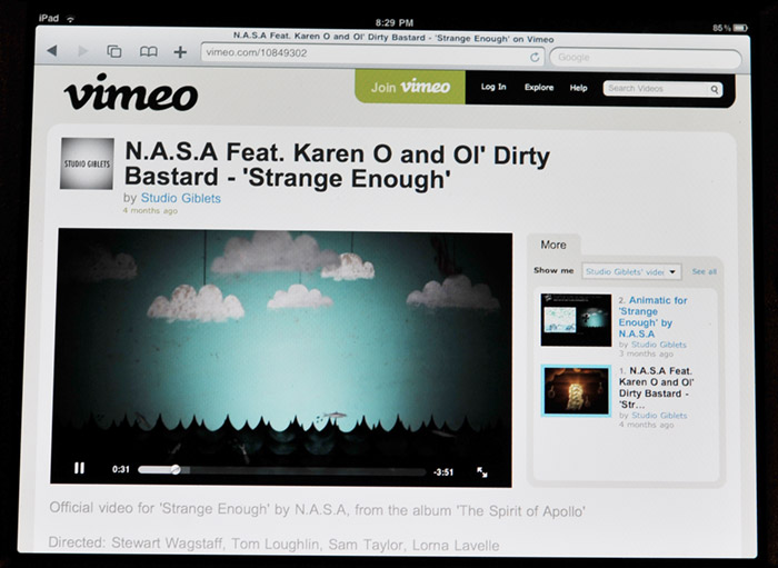 vimeo-ipad Vimeo now friendly with iDevices, supports HTML5