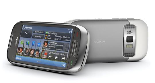Nokia-C7-540 Nokia reveals three new Symbian^3 phones: E7, C6-01, C7