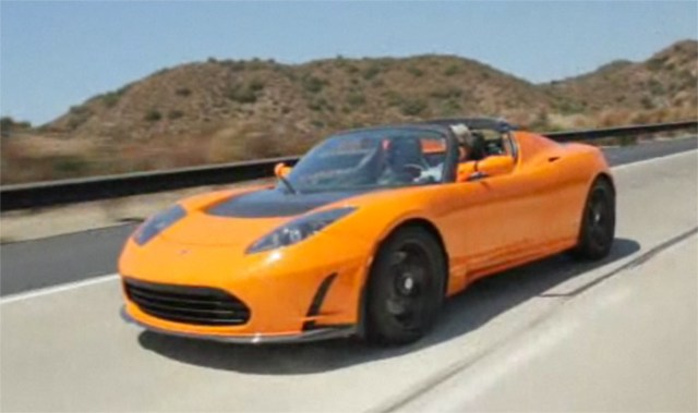 jayleno-tesla-2  Jay Leno test drives the Tesla Roadster 2.5 (video)