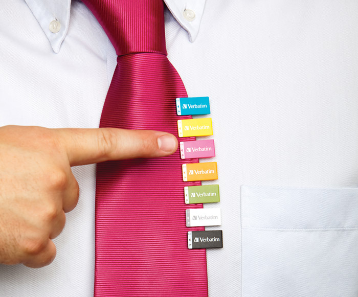 verbatim-clipit-02 Verbatim's Clip-it USB drive keeps flash memory designs fresh