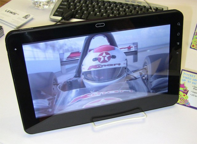 viewsonic-gtablet Viewsonic's G Tablet runs Android 2.2 froyo, costs $529