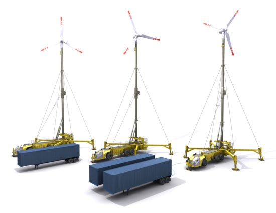MobileWindTurbine8 The Mobile Wind Turbine concept