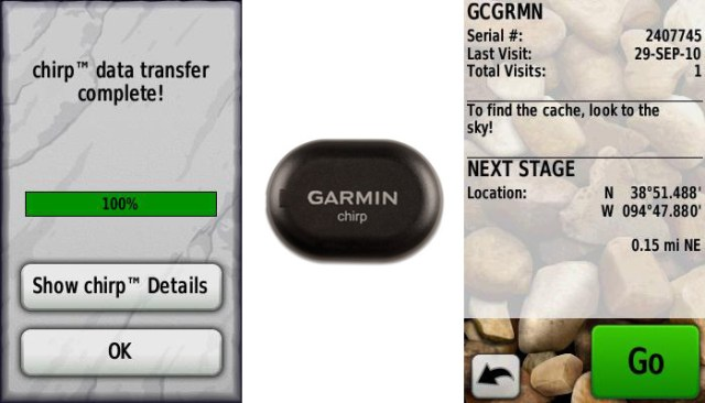 garmin-chirp Garmin Chirp tracking chip changes geocaching forever