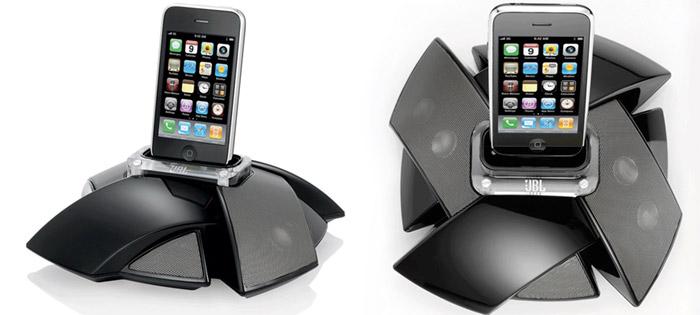 jbl-onstage-1 JBL OnStage IV and Micro III iPhone speaker dock is like a flower