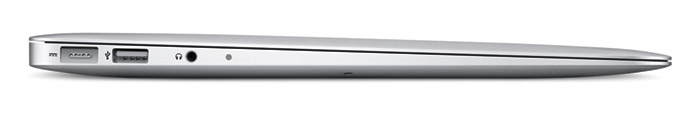 mba-flash-side Apple refreshes MacBook Air with instant booting Flash memory and more