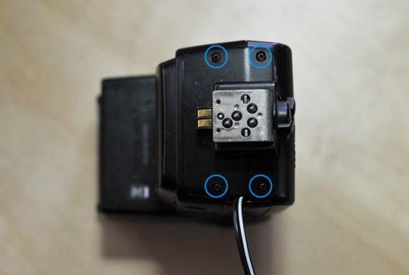 mod-sb600-01 Nikon SB-600 Flash AC/DC power modification