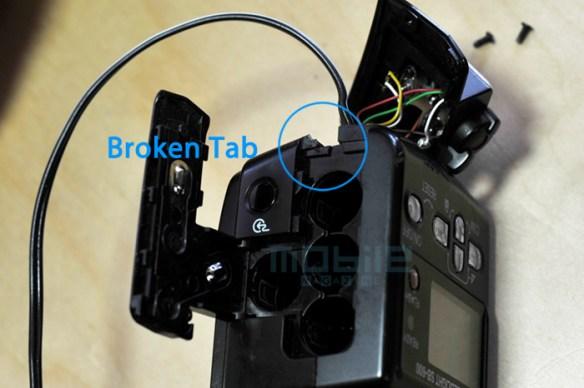 mod-sb600-04 Nikon SB-600 Flash AC/DC power modification