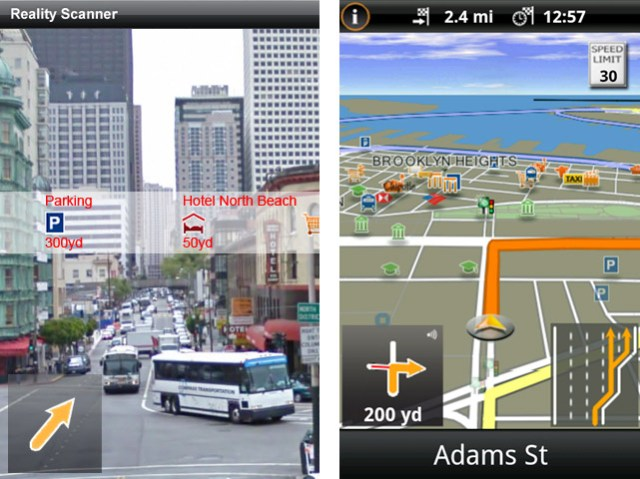 navigon-reality-scanner Navigon releases first major navigation app for Android, features 'Reality Scanner'