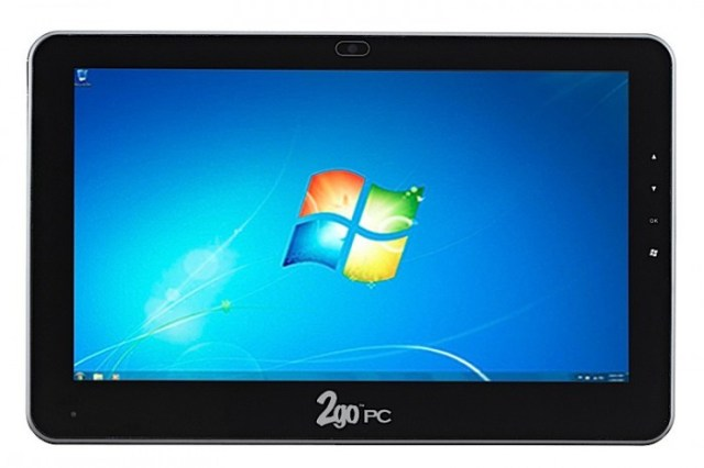 sl10frontscreen-copy-700x466   CTL starts shipping 2goPad SL10 Windows 7 tablet for $499