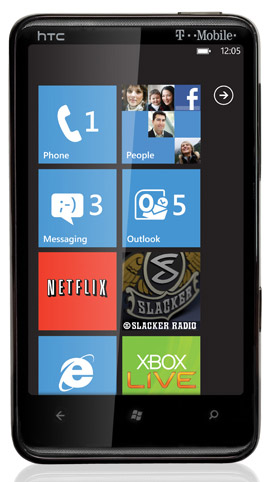 t-mobile-htchd7 HTC HD7 with Windows Phone 7 on T-Mobile mid-November